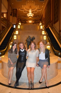 Lovely ladies at the Langham. (Alliteration's awesome, ain't it?)