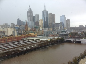 Melbourne, as the fabulous and famous see it, from the Langham.