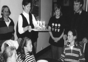 It's 1997 and someone is eyeing off my cake.