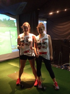 Great Amazing Race 2014: Girls who golf (badly).