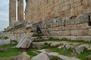 The ancient Roman city of Jerash. All to myself  -- and Artemis the temple cat -- for the day.